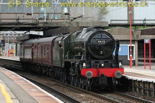 46115 Scots Guardsman at Stafford