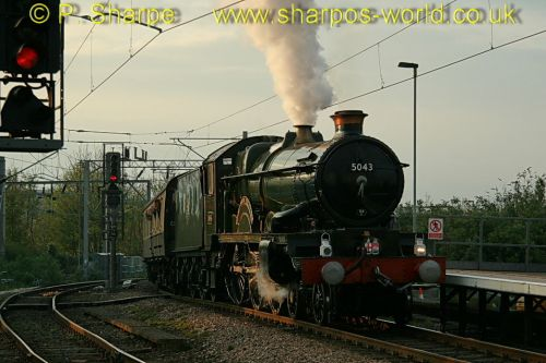 5043 Earl of Mount Edgcumbe at Wolverhampton