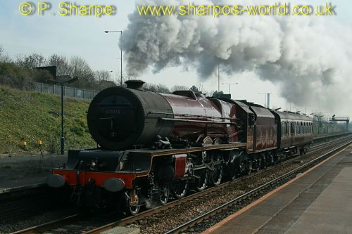 6201 Princess Elizabeth at Small Heath