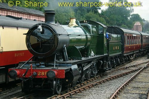 2857 at Bewdley